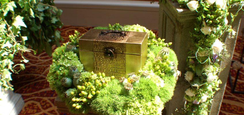 Kremavimo urna saugo ir pelenus, ir prisiminimus