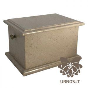 SA-1 kremine akmens urna su rankenelemis