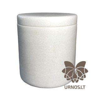 SA-221subtili balta marmurine urna