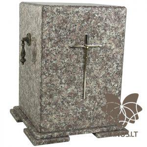 rusva granitinė urna