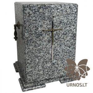pilka granitine urna
